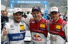 Gary Paffett - Mattias Ekström -Edoardo Mortara - DTM - Spielberg - 02.08.2015