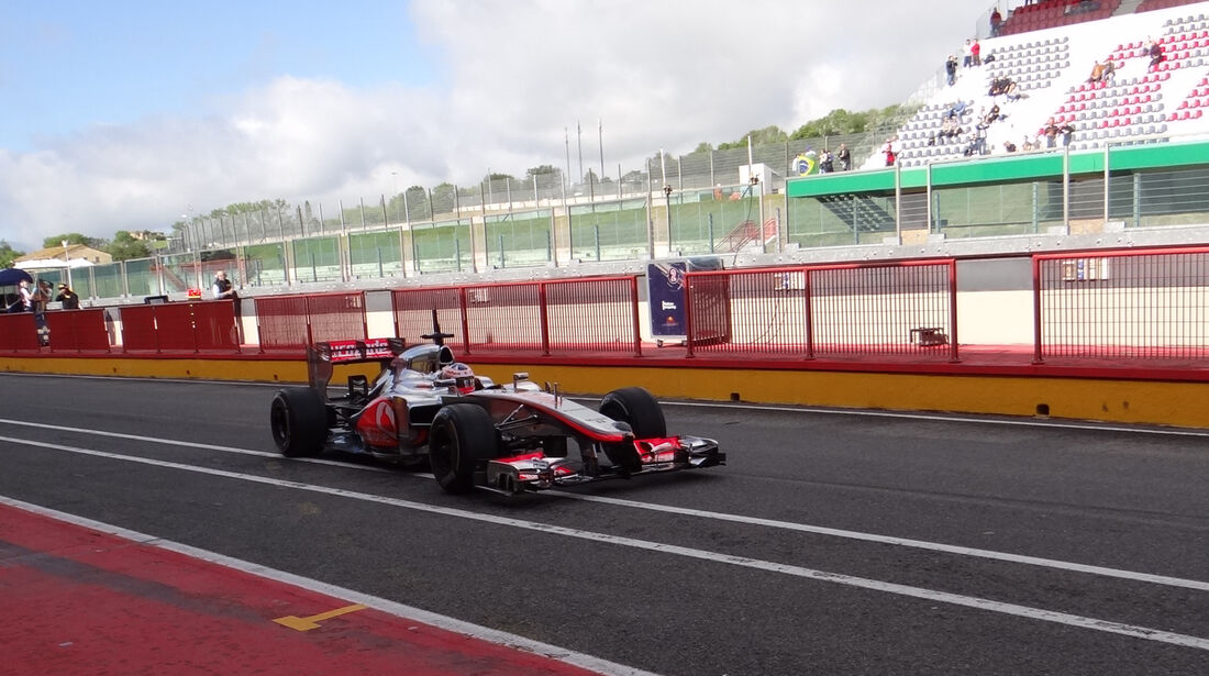 Gary Paffett - McLaren - Formel 1-Test - Mugello - 2. Mai 2012