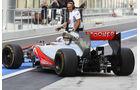 Gary Paffett McLaren Young Driver Test Abu Dhabi 2012