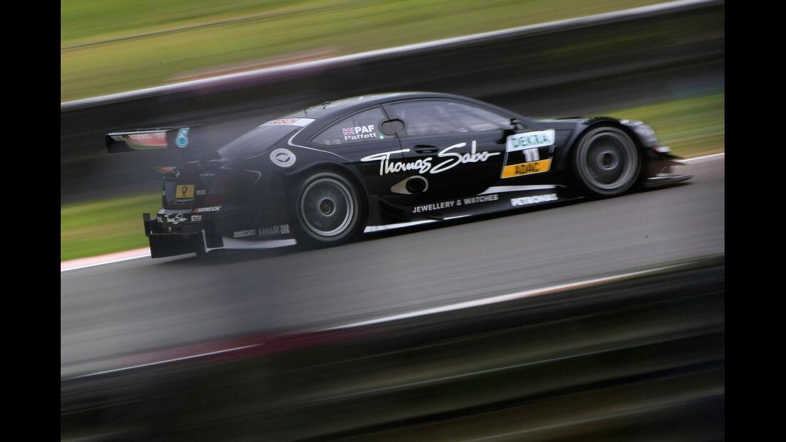 Gary Paffett Mercedes DTM Brands Hatch 2012