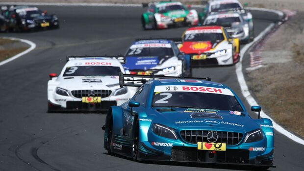 Gary Paffett - Mercedes - DTM - Zandvoort 2018