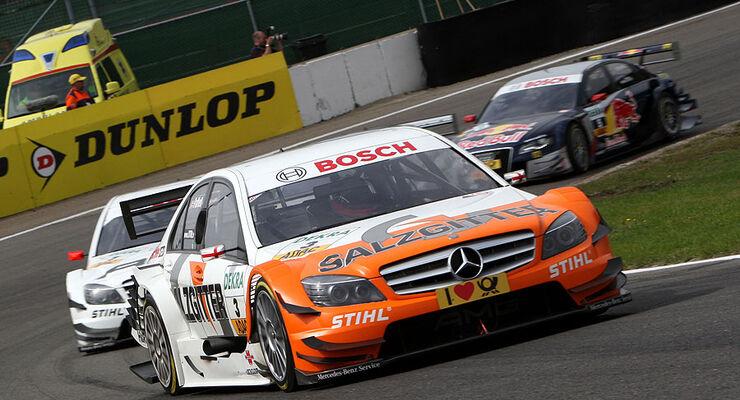 Gary Paffett Mercedes DTM