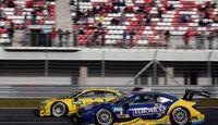 Gary Paffett - Mercedes - Mike Rockenfeller - Audi - DTM - Moskau - 1. Rennen - Samstag - 29.08.2015