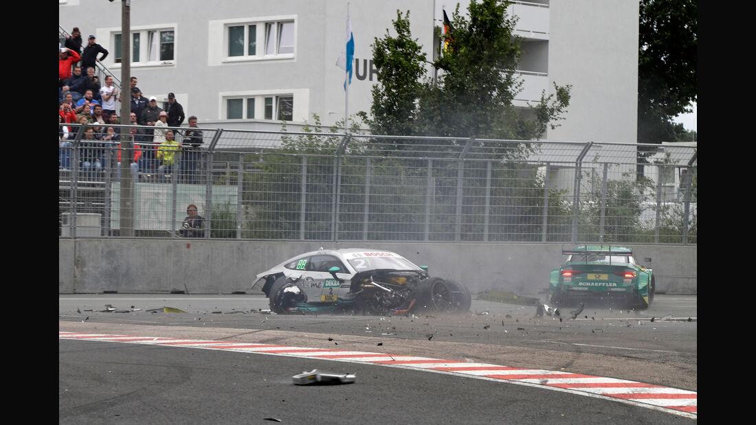 Gary Paffett - Mike Rockenfeller - DTM - Norisring 2017