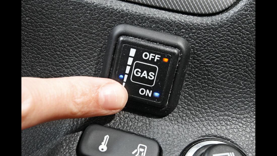 Gasantrieb, Bedienelement