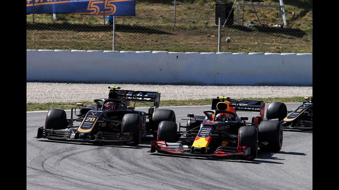 Gasly & Magnussen - Formel 1 - GP Spanien 2019
