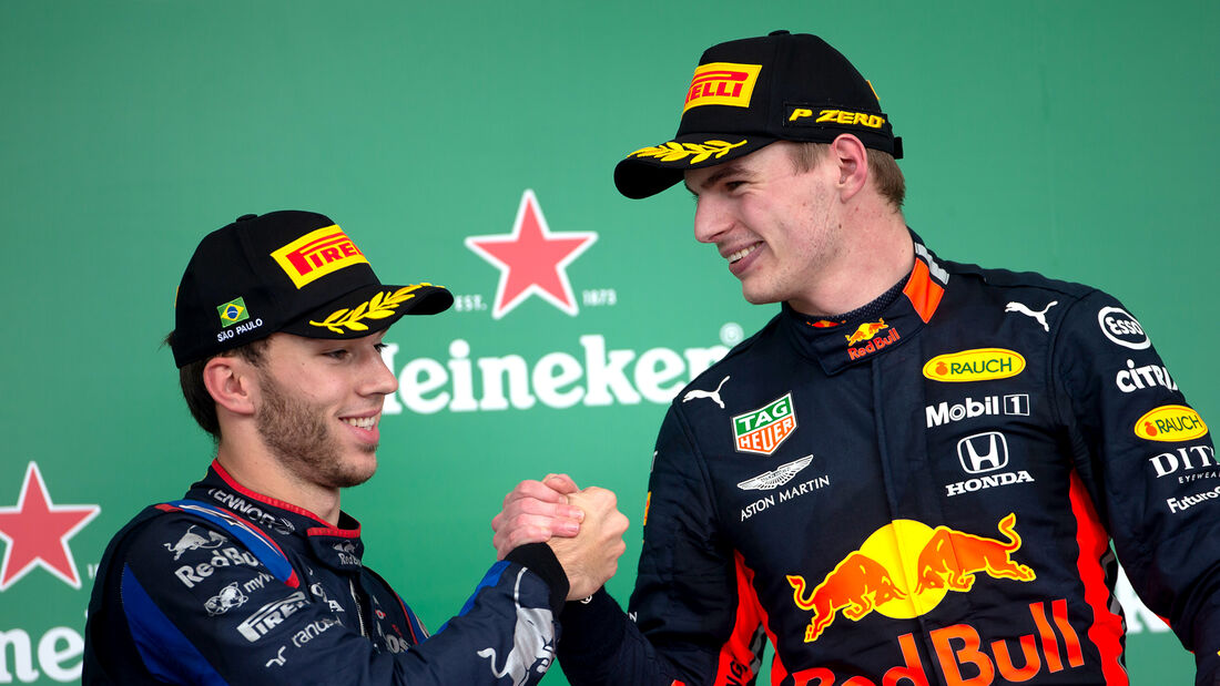 Gasly & Verstappen - GP Brasilien 2019