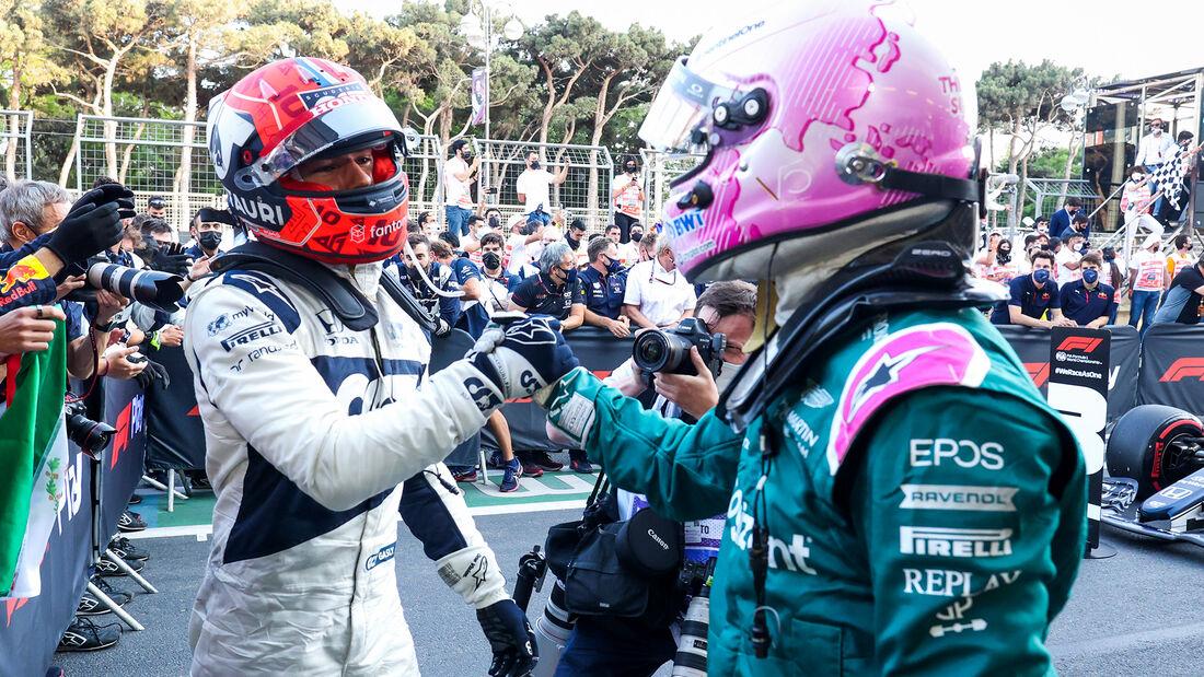 Gasly & Vettel - Formel 1 - GP Aserbaidschan 2021