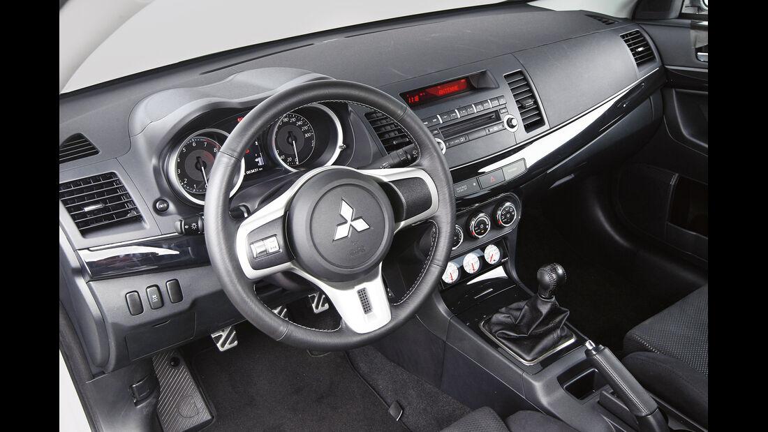 Gassner-Mitsubishi Evo hg500r, Cockpit, Lenkrad