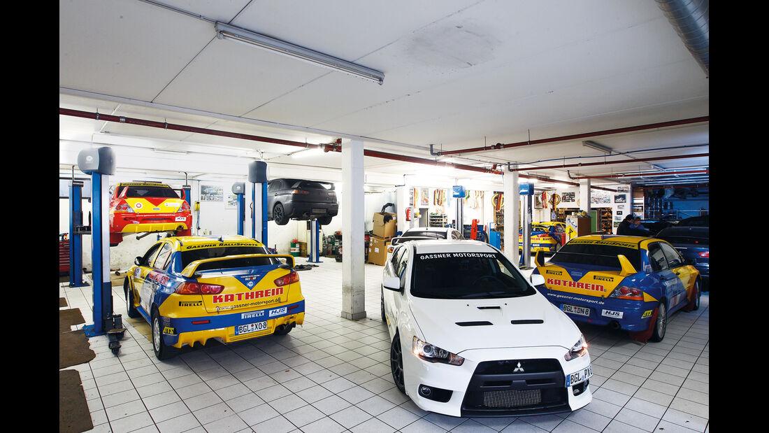 Gassner-Mitsubishi Evo hg500r, Garage, Fahrzeuge