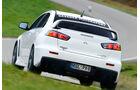Gassner-Mitsubishi Evo hg500r, Heckansicht