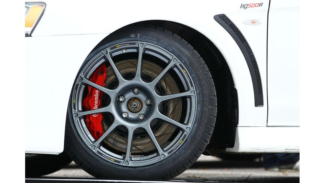 Gassner-Mitsubishi Evo hg500r, Rad, Felge