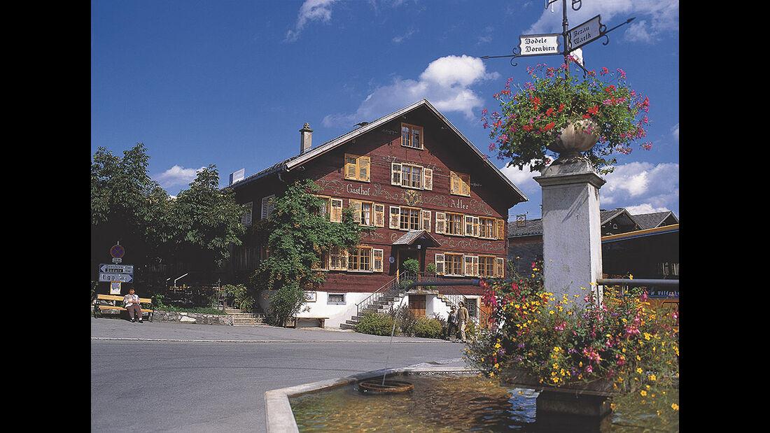 Gasthaus Adler in Schwarzenberg