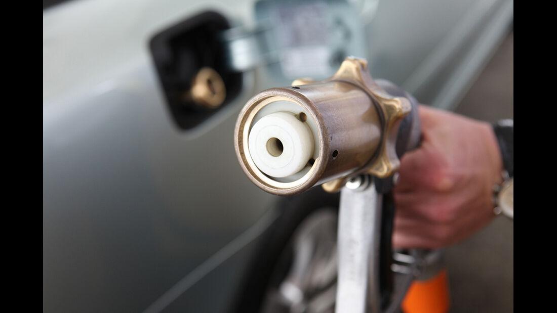 Gaszapfanlage