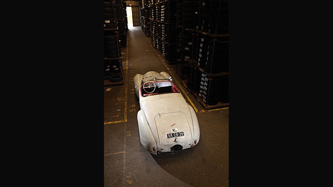 Gatsonides Ford Mercury, Heckansicht