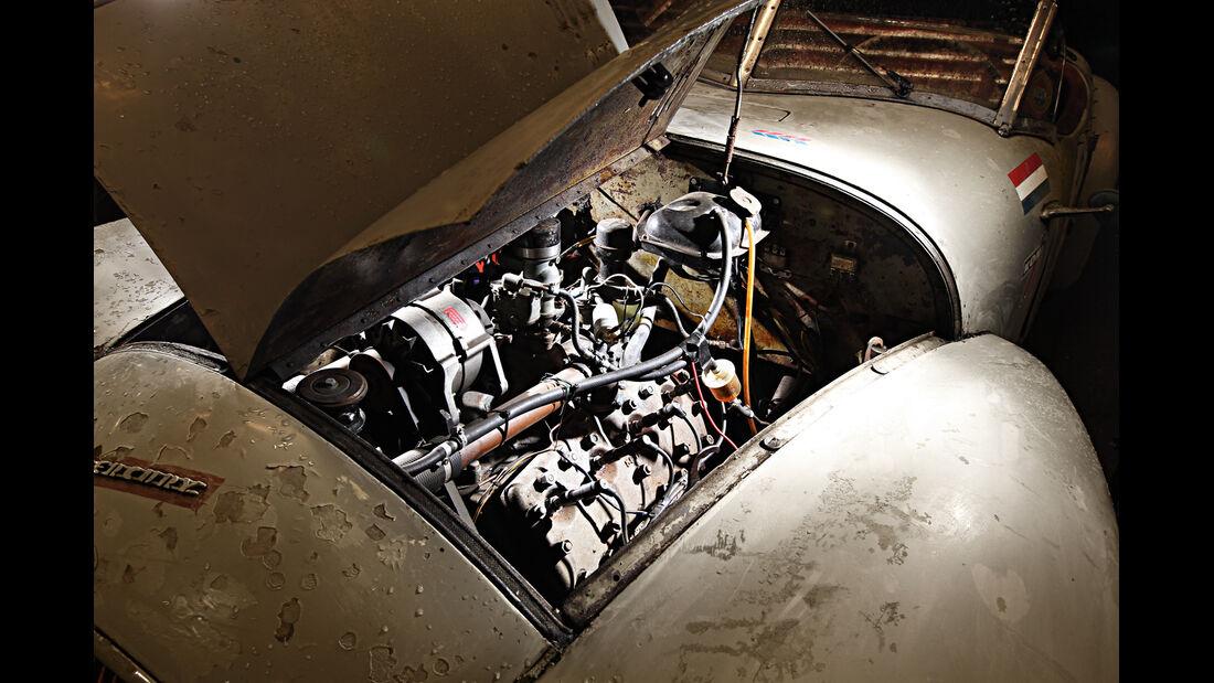 Gatsonides Ford Mercury, Motor