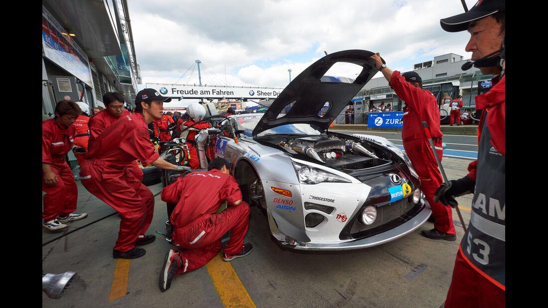 Gazoo Racing - Lexus LFA Code X - Impressionen -  24h-Rennen Nürburgring 2014 - 21.06.2014