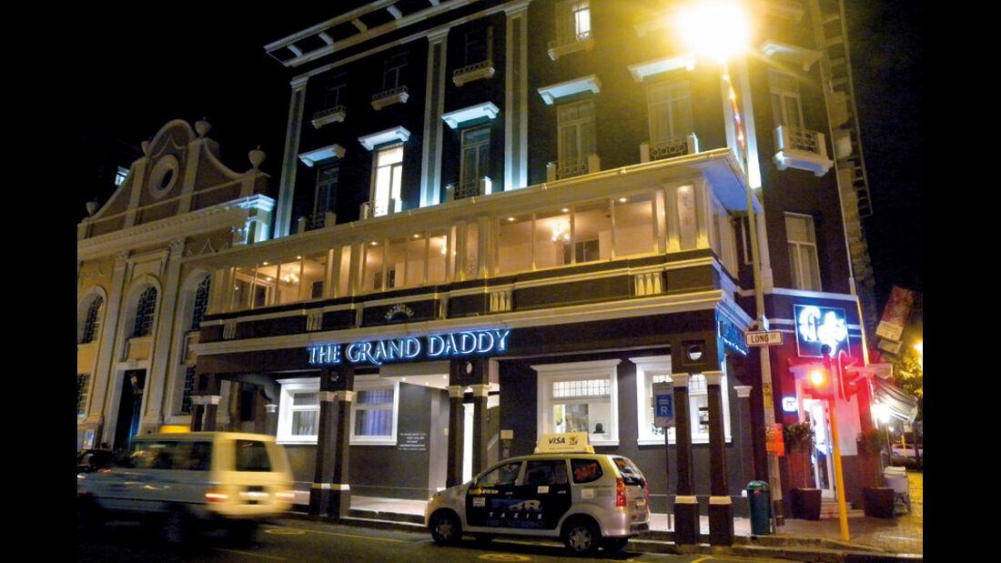 Gebäude in der Long Street, Kapstadt