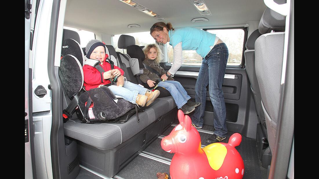 Gebrauchtwagen, Familienautos, Innenraum