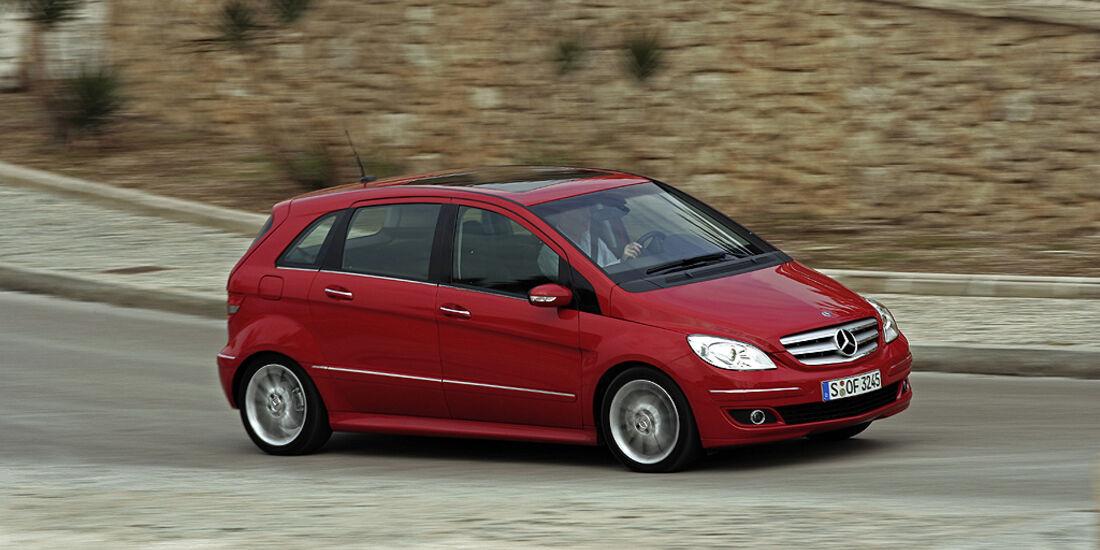 Gebrauchtwagen, Familienautos, Mercedes B-Klasse