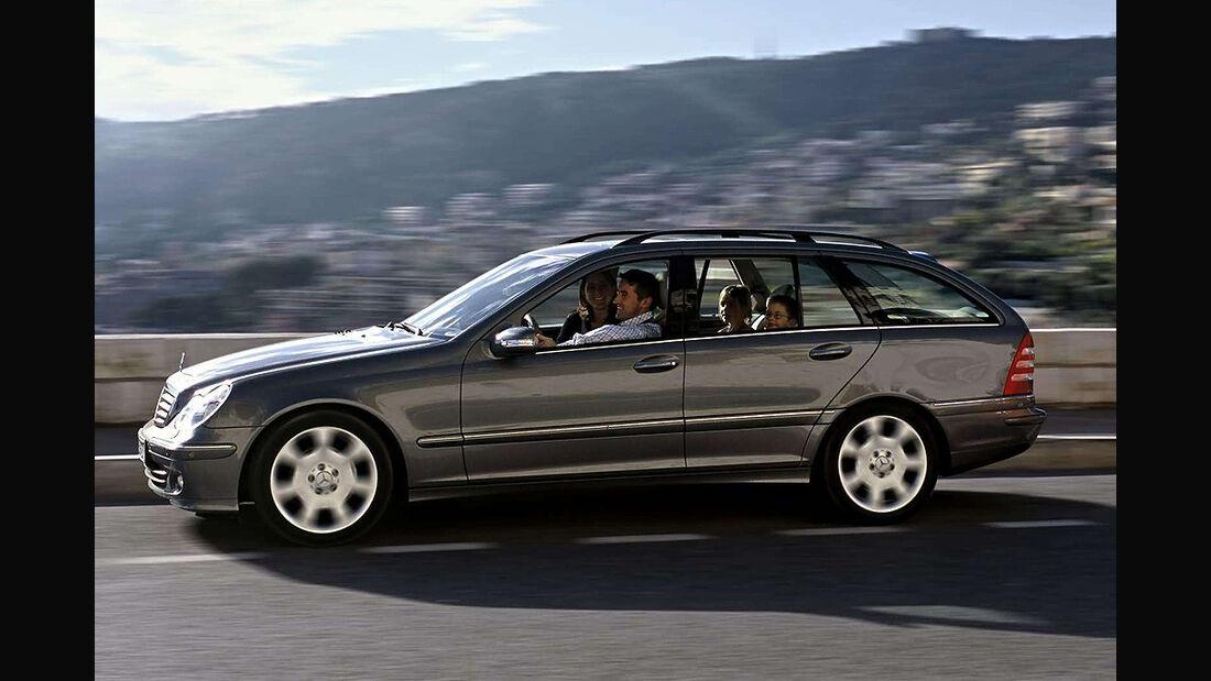 Gebrauchtwagen, Familienautos, Mercedes C-Klasse