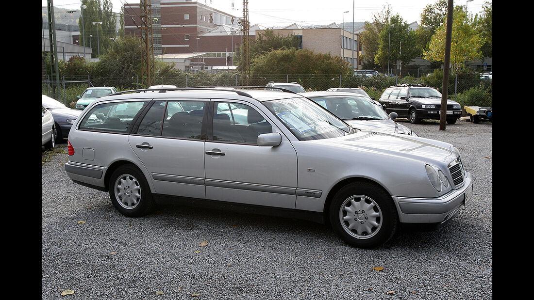 Gebrauchtwagen, Familienautos, Mercedes E-Klasse T-Modell