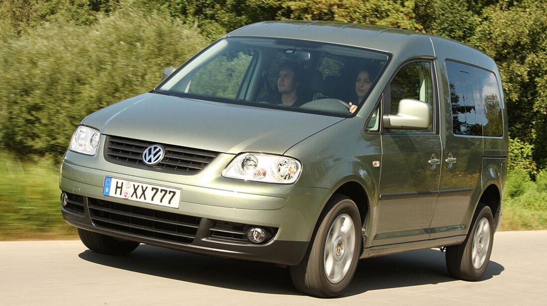 Gebrauchtwagen, Familienautos, VW Passat Caddy Life