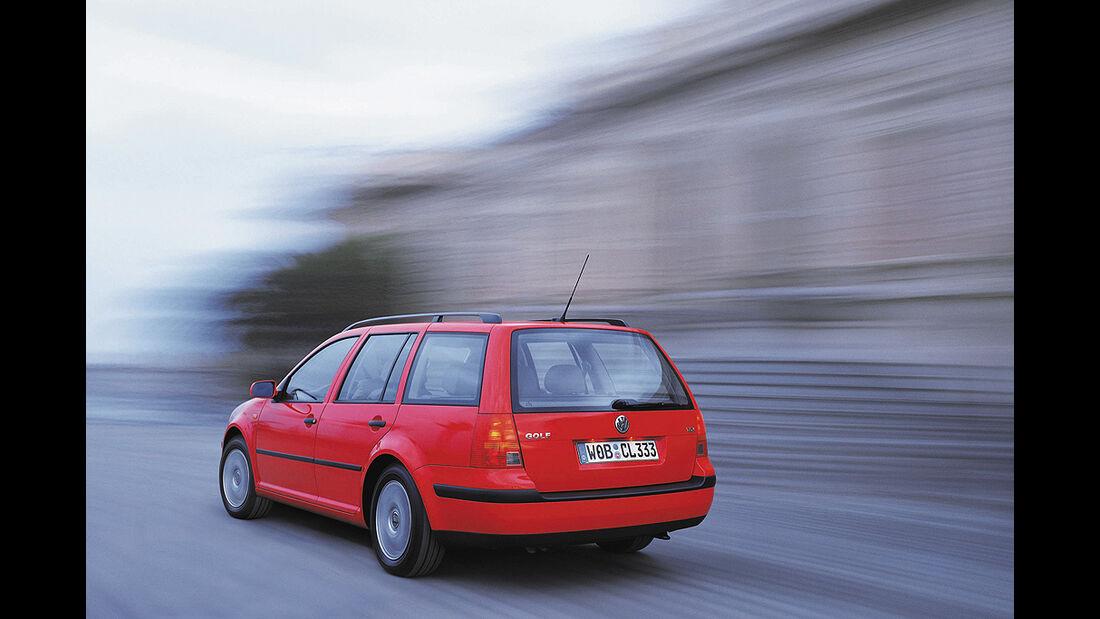Gebrauchtwagen, Familienautos, VW Passat Golf IV Variant