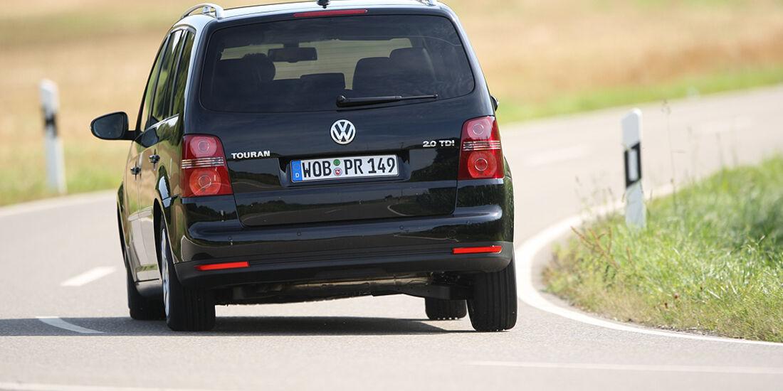 Gebrauchtwagen, Familienautos, VW Touran