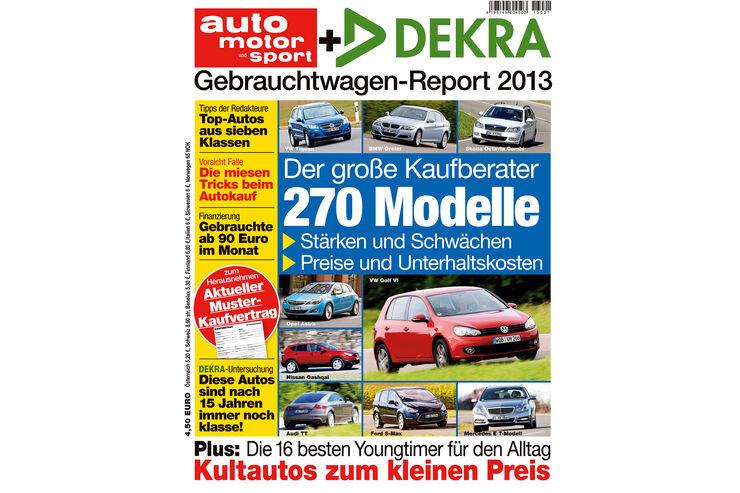 Gebrauchtwagen-Heft 2013