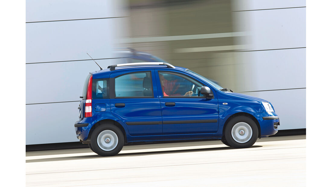 Gebrauchtwagen, Privat- oder Händlerkauf, Fiat Panda