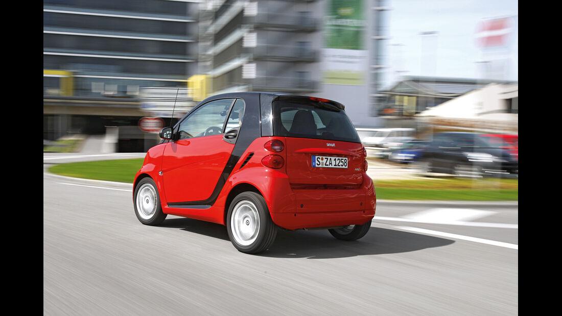 Gebrauchtwagen, Privat- oder Händlerkauf, Smart Fortwo
