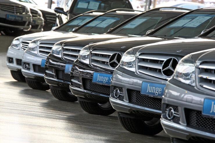 Gebrauchtwagen-Programme, Mercedes, Junge Sterne