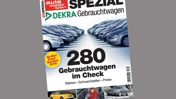 Gebrauchtwagen Spezial DEKRA 2016