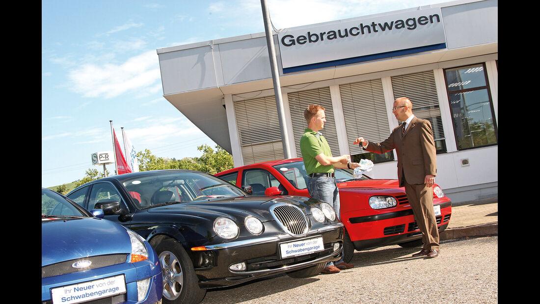 Gebrauchtwagenhändler, Nachverfolgung