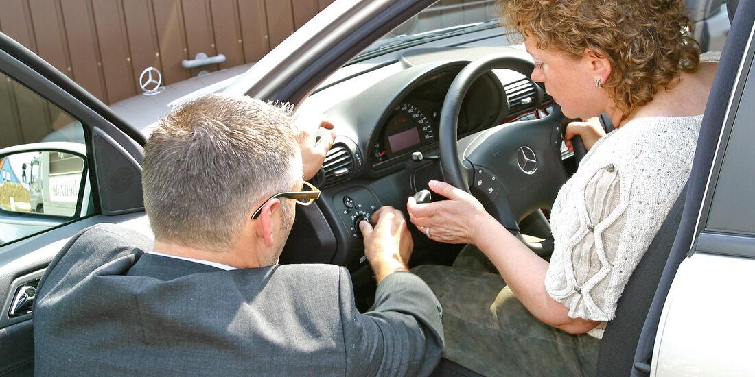 Gebrauchtwagenhändler-Test, Probefahrt