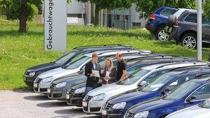 Gebrauchtwagenhändler
