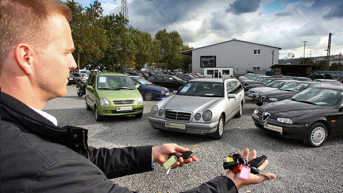 Gebrauchtwagenkauf