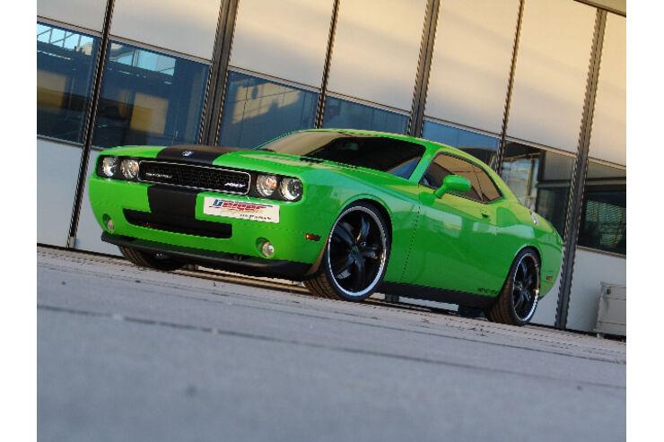 Dodge Challenger: Geiger Cars stärkt den Herausforderer ...