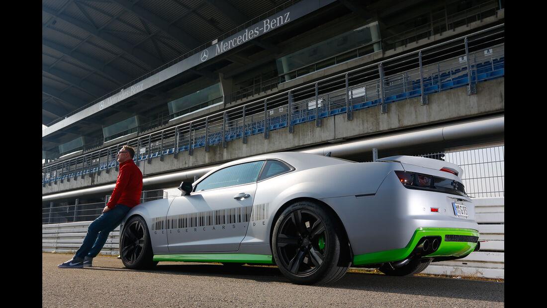 Geiger Chevrolet Camaro ZL1, Heckansicht, Henning Busse