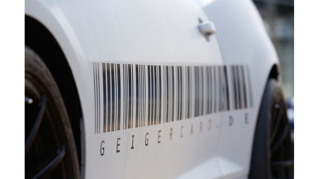 Geiger Chevrolet Camaro ZL1, Seitenverkleidung