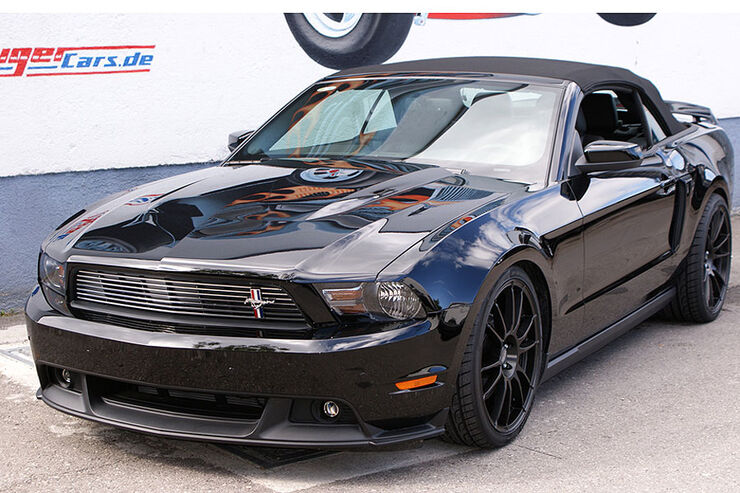 Geiger Ford Mustang Front