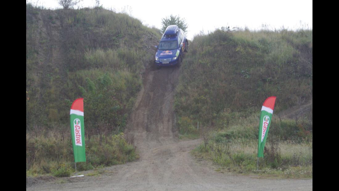 Gelände-Fahtraining VW