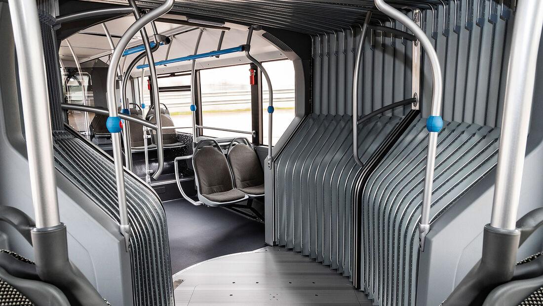 Gelenkbus Mercedes-Benz eCitaro G Elektrobus Daimler Buses