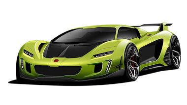 Gemballa Supersportwagen Teaser