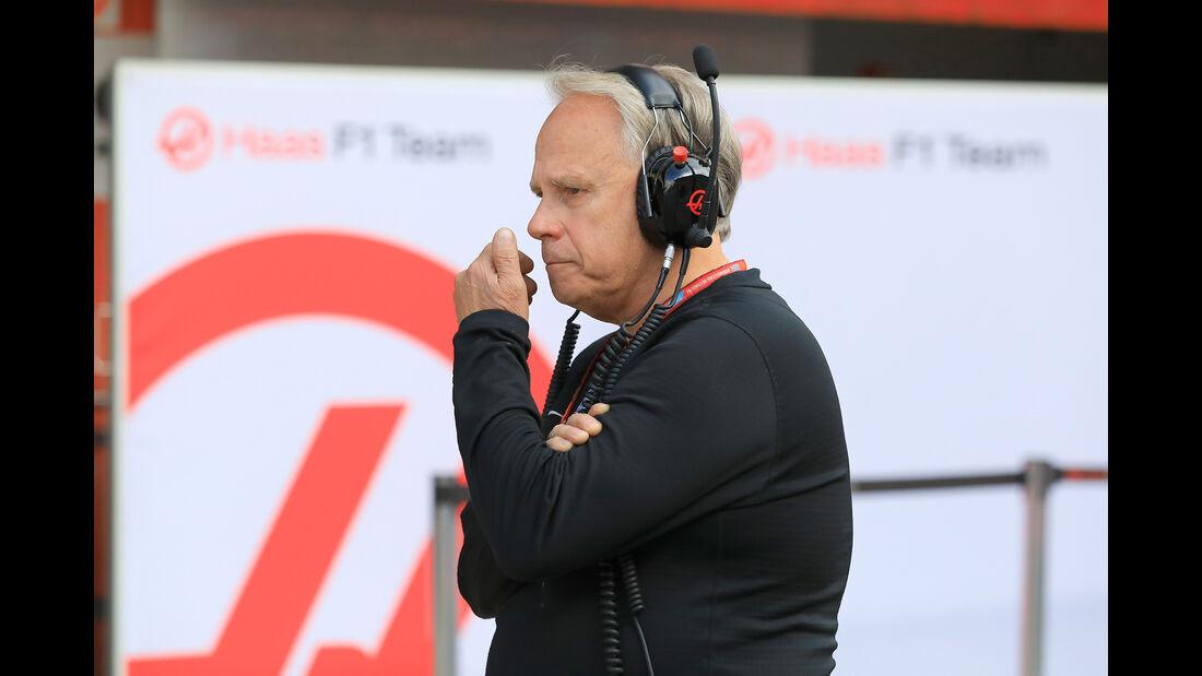 Gene Haas - F1-Test - Barcelona - Tag 7 - 8. März 2018