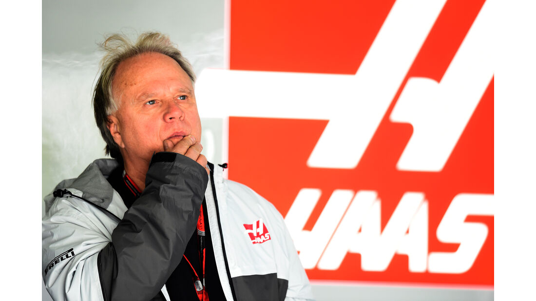 Gene Haas - HaasF1 - Formel 1-Test - Barcelona - 23. Februar 2016