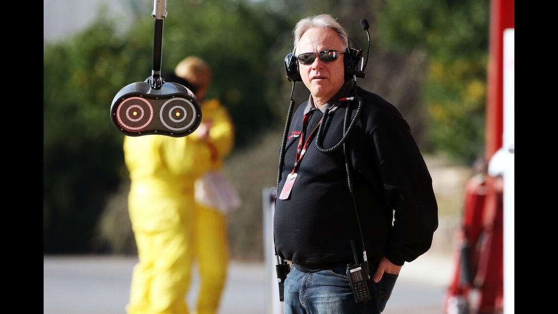 Gene Haas - HaasF1 - Formel 1-Test - Barcelona - 25. Februar 2016