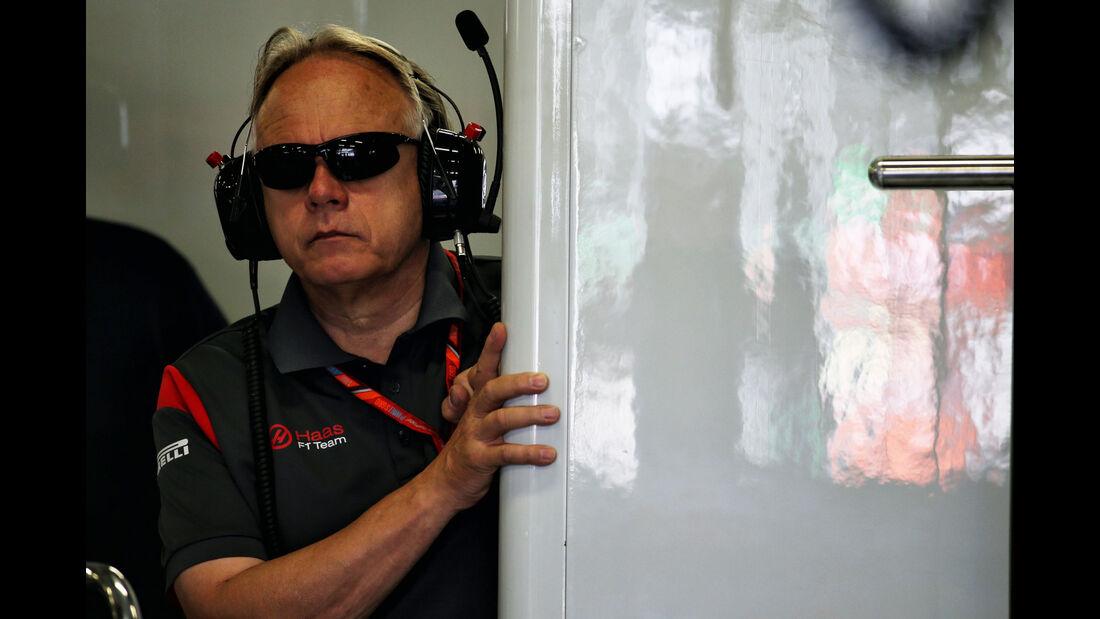 Gene Haas - HaasF1 - GP Mexiko - Formel 1 - Freitag - 27.10.2017