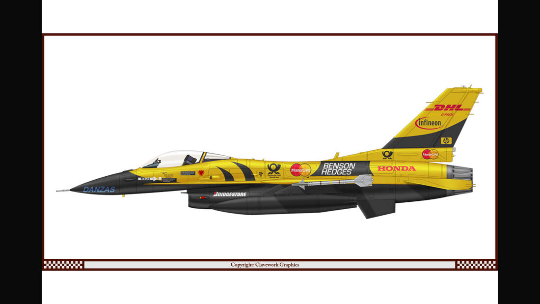 General Dynamics F-16 Fighting Falcon - Jordan - Racing-Planes - 2015